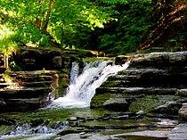 Stony Brook State Park waterfalls.jpg