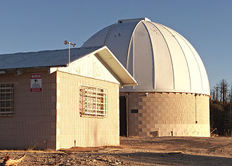 Stony Ridge Observatory - Site in 2014