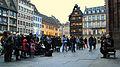 Strasbourg Luc Arbogast parvis de la Cathédrale mars 2013.jpg