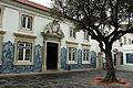 Streets of Lisbon, wall mosaic exterior decoration pattern (facade). Lisbon, Portugal, Southwestern Europe.jpg