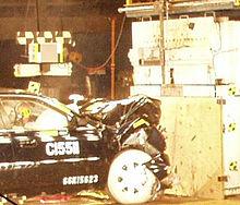 Shock Absorber Car >> Crumple zone - Wikipedia
