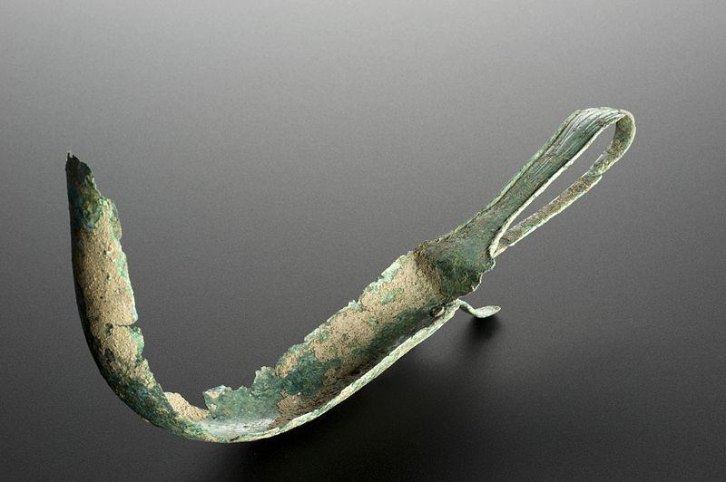 Corroded Roman Strigil