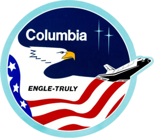 Mission patch for STS-2 Space Shuttle mission