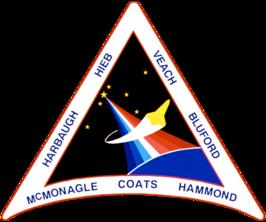 Missiepatch van STS-39