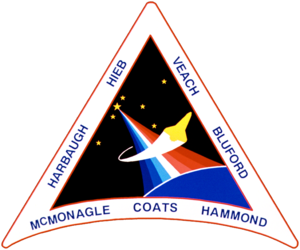 Gregory J. Harbaugh - Image: Sts 39 patch