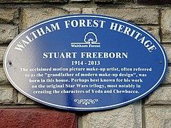 Stuart freeborn (waltham forest heritage)