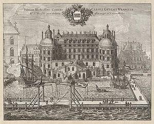 Wrangel Palace - Image: Suecia 1 038 ; Wrangelska Dahlberg