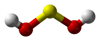 Sulfoxylic acid chemical compound