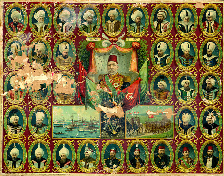 Dosya:Sultans of the Ottoman Dynasty.jpg