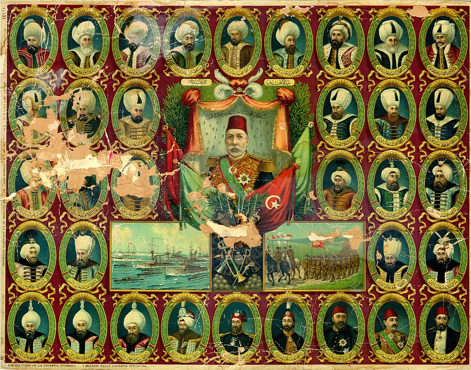 Sultans of the Ottoman Dynasty