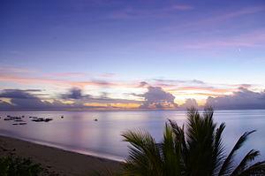 Malindi - Image: Sun rise Malindi