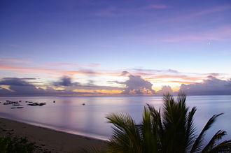 Kilifi County - Image: Sun rise Malindi