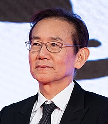 "Suo Masayuki from ""Talking the Pictures"" at Opening Ceremony of the Tokyo International Film Festival 2019 (49014096832) (cropped).jpg"