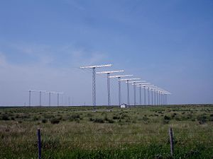 Super Dual Auroral Radar Network - SuperDARN site in Holmwood SDA, Saskatoon