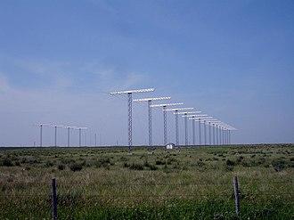 Super Dual Auroral Radar Network - SuperDARN site in Holmwood SDA, Saskatoon
