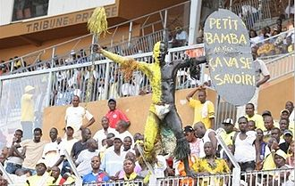 West Africa - Supporters of ASEC Mimosas