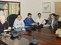 Supriya Kumar Roy chairing a meeting.jpg
