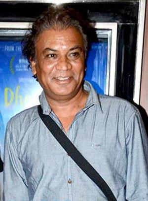 Vipin Sharma - Sharma (right) with Suresh Menon at the special screening of Dhanak