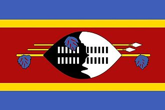 Child labour in Swaziland - Image: Swaziland Flag of Swaziland 9533