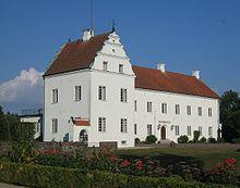 Swedish castle Ellinge