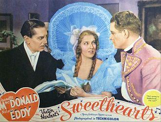 Sweethearts (1938 film) - Lobby card