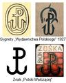 Sygnety Wydawnictwa Polskiego vs. Kotwica (tekst).png