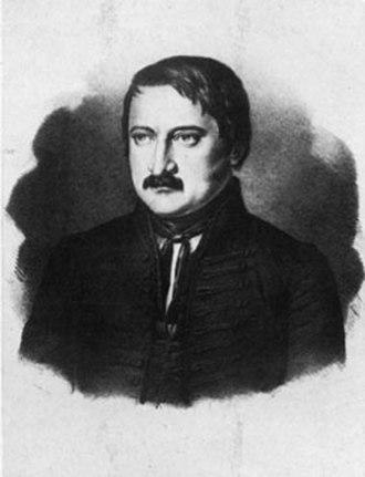 Minister of Education (Hungary) - Image: Szász Károly (1798 1853)