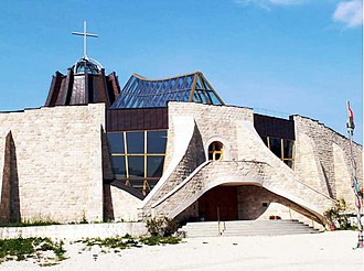 Gazdagrét - Holy Angels church