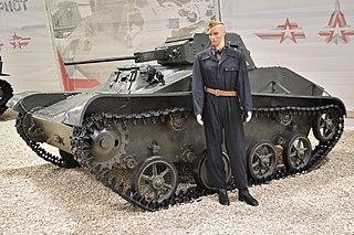 T-60 tank 1941 Soviet light tank
