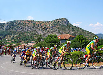 2006 Tour de France - Riders during stage two