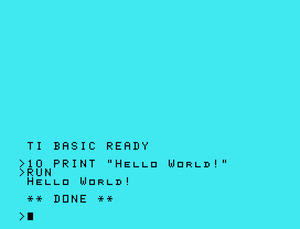 "English: Very simple ""Hello World!"" ..."
