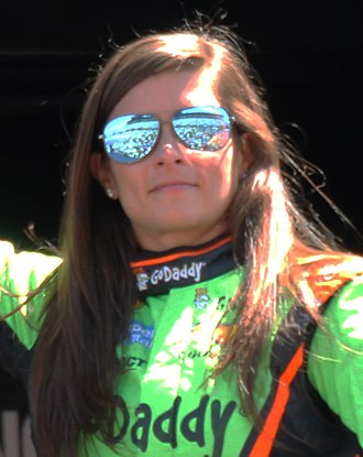 Danica Patrick - Patrick at the 2015 Toyota/Save Mart 350