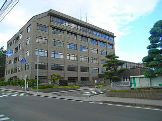 Tagajō City in Tōhoku, Japan