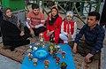 Tahvil-e Saal of Nowruz 2018 (1397 SH) in Fatima Masumeh Shrine, Qom (13961229400355636571772946537141 52044).jpg