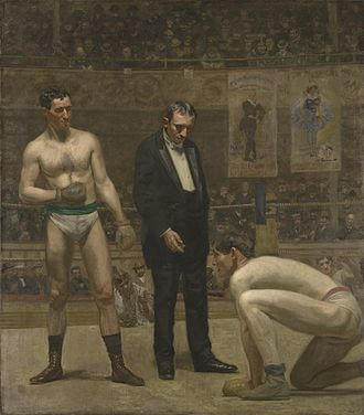 Walter Schlichter - Image: Taking the Count by Thomas Eakins