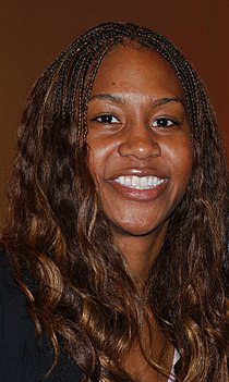 Tamika Catchings is one of three women who recorded a quintuple-double in high school. Tamika Catchings.jpg