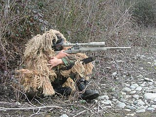 Sniper Highly trained marksman