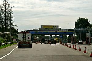Deli Serdang Regency - Tanjung Morawa toll gate, Deli Serdang Regency