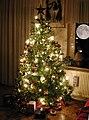 Tannenbaum Geschenke und der Mond 2007 by-RaBoe.jpg