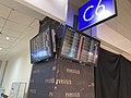 Taoyuan International Airport Terminal 2 C6 Gate Electronic Display 20200816 02.jpg