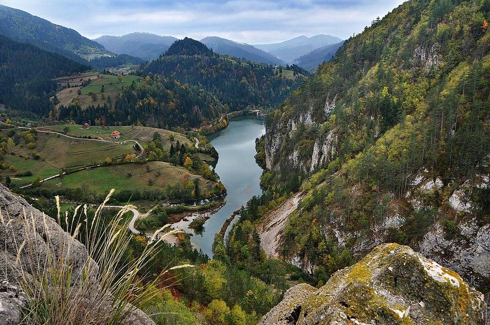 Tarski pejzaž, jezero Spajići, Nacionalni park Tara
