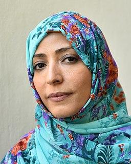 Tawakkol Karman Yemeni journalist, politician, human rights activist, and Nobel Peace Prize recipient