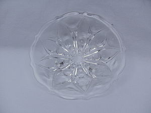 Anchor Hocking - Anchor Hocking Depression glass, Teardrop and Dot pattern