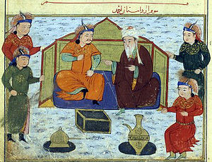 Tekuder - Tekuder and Shams al-Din Juvayni.