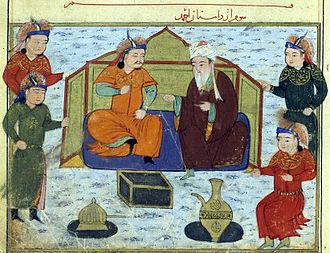 Shams al-Din Juvayni - Tekuder and Shams al-Din Juvayni.