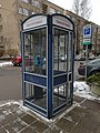 Telephone booth in Vilnius, Lithuania, Dec 2018.jpg
