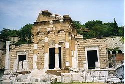 The Capitoline Temple.