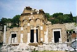 The Capitoline Temple.