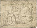 Temptation of St. Anthony (recto); Fantastic Landscape (verso) MET DP801197.jpg