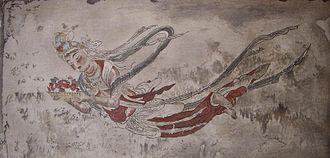 Tennin - A depiction of a Tennin.